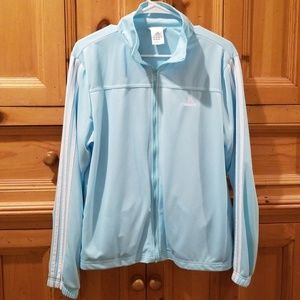 Light blue Adidas soft and cozy sweathshirt